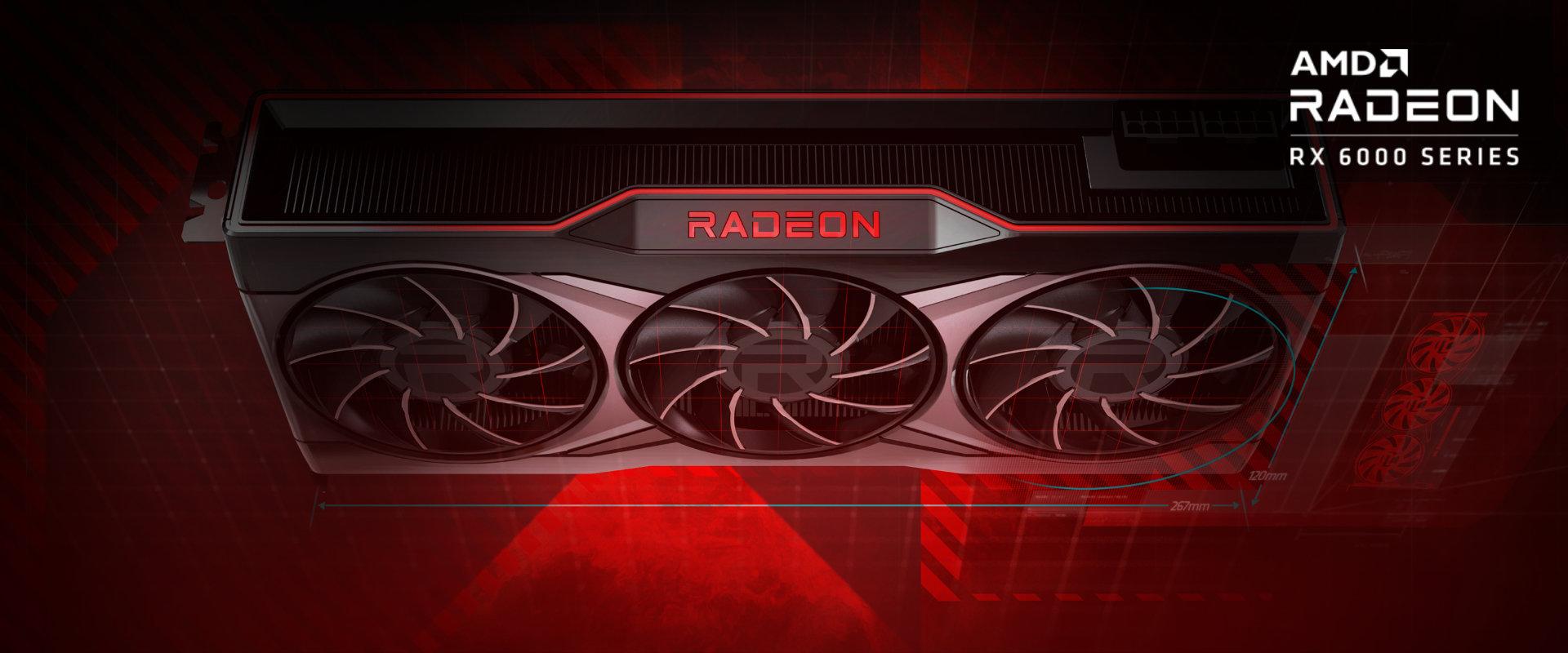 AMD Radeon™ RX 6000 serija grafičkih kartica