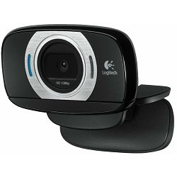 Logitech C615 HD Webcam, Full HD 1080p video snimanje, Hi-Speed USB 2.0,Logitech Fluid Crystal teh