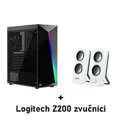 Računalo ADM School's Out V2 AMD Ryzen 1600, 16GB, SSD 500GB, GTX1660 SUPER, Windows 10 pro +  LOGITECH Z200