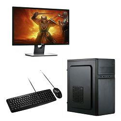 ADM Bundle Lupis Intel i3-10100F, 8GB, 250GB SSD M.2 + 1TB HDD,GT 710, Windows 10 pro + Monitor + miš + tipkovnica
