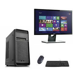 Računalo ADM Grenadine PROMO BUNDLE Ryzen 3200G/ 8GB/ SSD 500GB/ Win10 PRO/ DELL 22