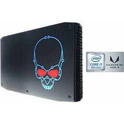 Intel NUC kit, Hades Canyon, BOXNUC8I7HVKVA2,  i7-8809G 3.10GHz, 16GB DDR4, 1TB M.2 PCIe, 1x M.2/M-Key, AMD Radeon RX Vega M GH (onboard)