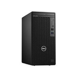 Dell OptiPlex 3080 MT, i3-10100, 8GB, 256GB SSD NVMe , Integrated, DVDRW, Kb+Mouse, Ubuntu