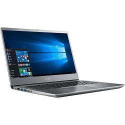 Acer Swift 3 14.0 FHD IPS,  i3-8130U, 4GB, 128GB SSD, iHD620, linux, srebrni, NX.GXZEX.034