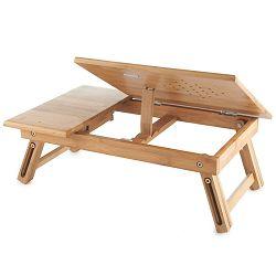 VonHaus stol za prijenosno računalo ili tablet, drvo, 08/063