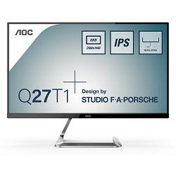 """AOC Q27T1, 27"""" IPS, 2xHDMI 1.4/DisplayPort 1.2"""