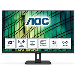 """AOC U32E2N 31,5"""" VA , UHD 4K,  2xHDMI, DP, zvučnici"""