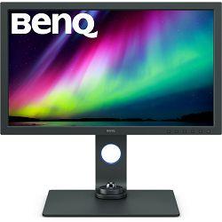 "BENQ 27"" SW271C, 3840x2160 4K, IPS, 100% sRGB, 90% P3, HDMIx2, DP, USB-C 60W, USB HUB, HDR, HAS, Pivot, Swivel"