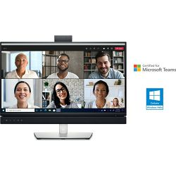"""DELL C2422HE  24"""" Video Conferencing Monitor with USB-C and RJ45, webcam"""