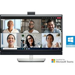 """DELL C2722DE  27"""" QHD Video Conferencing Monitor with USB-C and RJ45, webcam"""
