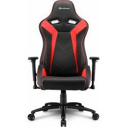 Sharkoon Elbrus 3 igraća stolica, crno-crvena