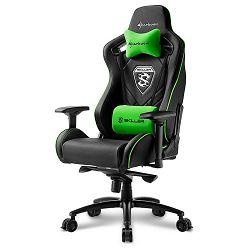 Sharkoon Skiller SGS4, igraća stolica, crno-zelena