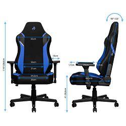Nitro Concepts X1000 Black/Blue, NC-X1000-BB