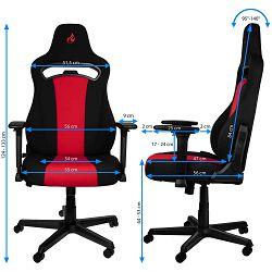 Nitro Concepts E250 Black/red, NC-E250-BR