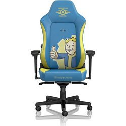 Noblechairs Hero Fallout Vault Tec Edition Gaming chair, Blue/Yellow, NBL-HRO-PU-FVT