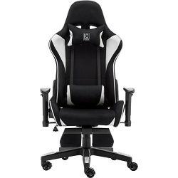LC-Power LC-GC-702BW-FF gaming stolica, Crno / bijela