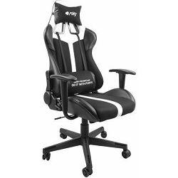 Fury Avenger XL  igraća stolica, crna/bijela, NFF-1712