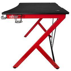 Nitro Concepts D12 Gaming Desk - Black/red, NC-GP-DK-010