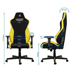 Nitro Concepts S300 Black/Yellow, NC-S300-BY