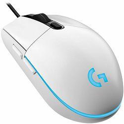 Logitech G102 Lightsync Gaming miš, White