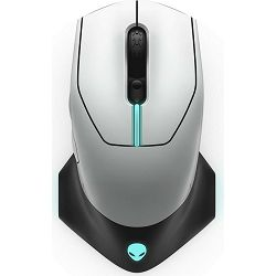 Dell Alienware Mouse Wired / Wireless Gaming - AW610M (Lunar Light)