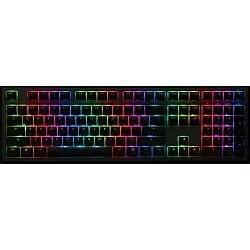 Ducky Shine 7 PTB Blackout MX Red RGB LED US