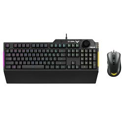 Asus TUF Gaming Combo K1 Keyboard + M3 mouse, USB, 90MP02A0-BCDA00