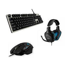 Logitech Black Friday Bundle G413 Silver + G502 Hero + G432