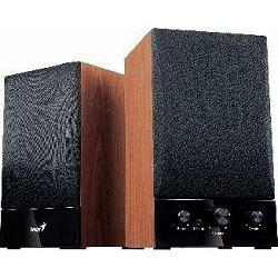 Genius SP-HF1250B II zvučnici 2.0, 40W, Drveni