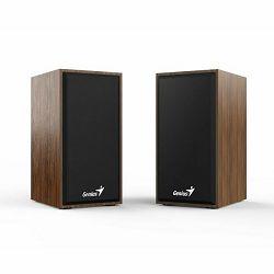 Genius SP-HF180 zvučnici 2.0, Drveni, USB+3,5mm