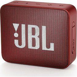 JBL GO 2 prijenosni bežični bluetooth zvučnik, red, JBLGO2RED