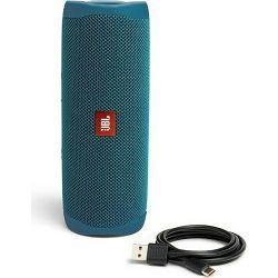 JBL Flip 5 Eco prijenosni bežični bluetooth zvučnik, blue, JBLFLIP5ECOBLU