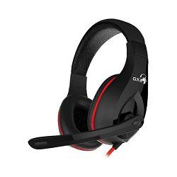 Genius Headset HS-G560 Gaming 3.5mm, Black
