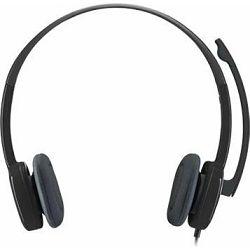Logitech headset H151, slušalice s mikrofonom, 981-000589,1 (3.5-mm minijack) ( x 1)