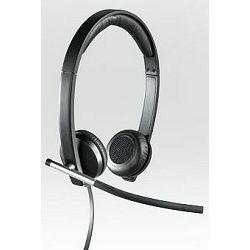 Logitech Headset H650e Stereo slušalice s mikrofonom, USB