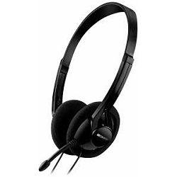 Canyon CNE-CHS01B  slušalice + mikrofon Black