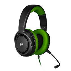 CORSAIR HS35 Stereo Gaming Headset, Green, CA-9011197-EU
