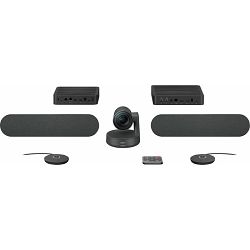 Logitech Rally Plus, ConferenceCam System, black, 960-001224