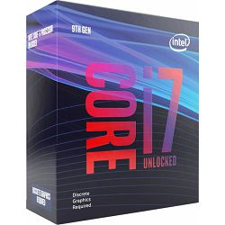 Intel Core i7-9700KF (12MB Cache, 3.60GHz), boxed without cooler, BX80684I79700KF