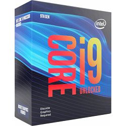 Intel Core i9-9900KF 3.60GHz, LGA1151, boxed without cooler