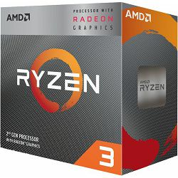 CPU AMD Ryzen 3 3200G BOX, s. AM4