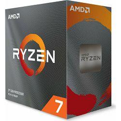 CPU AMD Ryzen 7 3800XT BOX,boxed without cooler, s. AM4, 100-100000279WOF