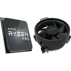 CPU AMD Ryzen 5 PRO 4650G tray +  cooler, s. AM4, 100-100000143MPK
