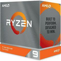 CPU AMD Ryzen 9 3900XT BOX,boxed without cooler, s. AM4, 100-100000277WOF
