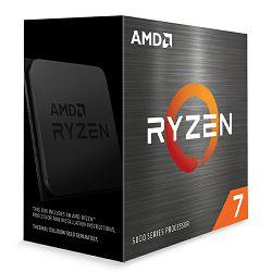 CPU AMD Ryzen 7 5800X (4.7GHz,36MB,105W,AM4) BOX, !! nema coolera !!, 100-100000063WOF