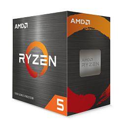 CPU AMD Ryzen 5 5600X (4.6GHz,35MB,65W,AM4) BOX, 100-100000065BOX