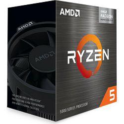 CPU AMD Ryzen 5 5600G (4.4GHz, 19MB,65W,AM4) BOX, 100-100000252BOX