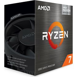 CPU AMD Ryzen 7 5700G (4.6GHz, 20MB,65W,AM4) BOX, 100-100000263BOX