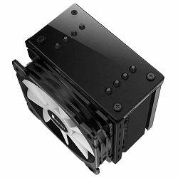 Jonsbo CR-201 Black, RGB-LED 120mm