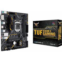 ASUS TUF B360M-E GAMING, Intel B360, s1151 8Gen CPU, 90MB0WK0-M0EAY0